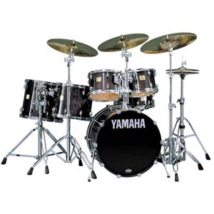 Yamaha Maple Custom Drums Drumset Drum Kit Schlagzeug
